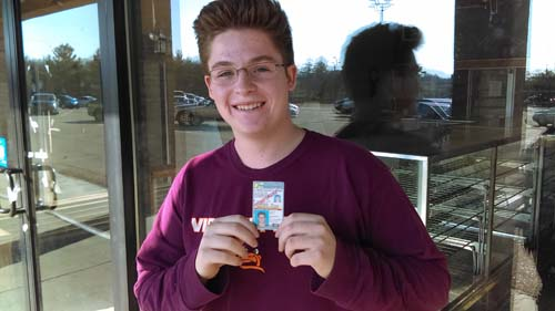 Bryce gets his license with a perfect score!