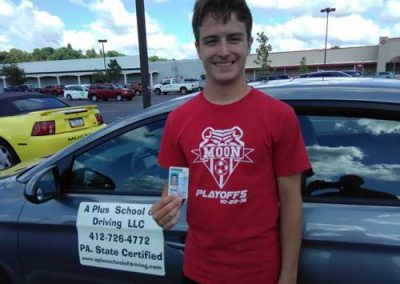 Daoud gets his license on his first try with a perfect score!
