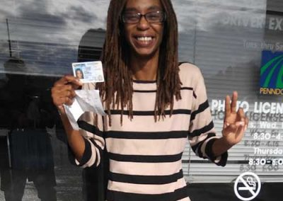 Faith gets her license!